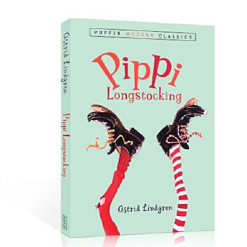 英文原版 Pippi Longstocking 长袜子皮皮系列8-12岁学童阅读启蒙 桥梁书 小说