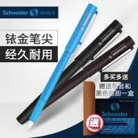 德国Schneider施耐德钢笔正品小学生简约ins风BK406EF超级好写的钢笔精致顺滑初学者练字专用EF尖特细0.