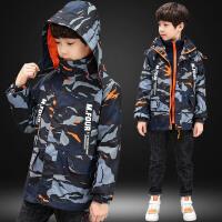 秋冬装儿童冲锋衣中大童可拆卸两件套外套三合一童装男童