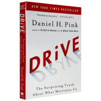 现货正版 Drive 驱动力 英文原版 全新思维作者丹尼尔平克作品 英文版 进口英语书籍