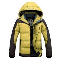 反季冬季新加厚无缝防风保暖男士户外羽绒服男滑雪服新品
