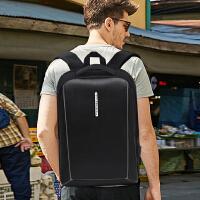新品男士商务双肩包时尚潮流学生书包大容量多功能休闲旅行电脑包女