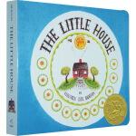 英文原版 The Little House 小房子 凯迪克大奖 汪培�E五5阶段 儿童启蒙纸板书
