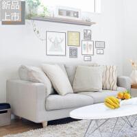布艺小沙发小户型北欧三人双人两人位卧室简易迷你小型小客厅简约定制