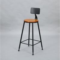 实木吧台桌高脚桌椅酒吧桌咖啡厅奶茶店靠墙桌家用吧台长条桌餐桌