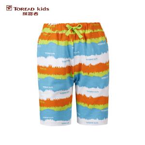 探路者TOREAD品牌童装 户外运动 夏装男童印花系列短裤