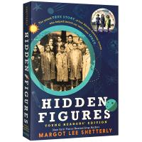 现货正版 隐藏人物 英文原版 Hidden Figures 英文版青少年读物 NASA无名英雌人物传记励志历史故事童书