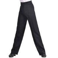 男童少儿舞蹈裤恰恰国标舞裤男士摩登舞成人交谊舞儿童拉丁舞裤子