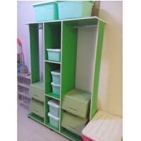 欣阳实木衣帽架落地衣架欧式创意衣服架卧室挂衣架门厅移动置物架 168高 绿色