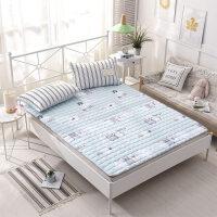 床护垫薄款铺床褥棉夏季保护垫透气打地铺睡垫棉床垫防滑1米5