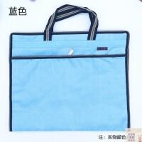 贝多美8字纹手提文件袋 提花布双层公文袋 资料袋 会议袋 底部加宽 内层防水设计 五色可选