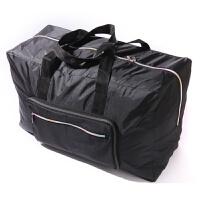可折叠旅行包手提旅行袋女大容量出差短途男登机防水行李袋旅游包 黑色 090款 大