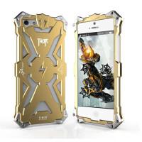 捷力源苹果iPhone 5s手机壳 iPhone5s手机壳 苹果5金属边框后盖外壳 苹果5变形金刚保护套