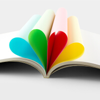 广博彩色复印纸办公打印纸草稿纸F8070R
