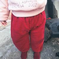 厚厚的软软的c级实用的小羽绒棉棉裤 女童裤子儿童打底裤