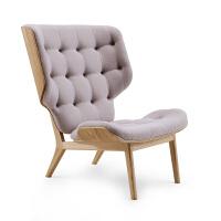 北欧家具单人沙发简时尚布艺沙发椅实木软包靠背躺椅创意家具定制