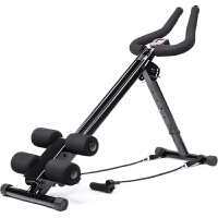 健腹器腹肌训练器美腹过山车立式滑翔收腹机家用锻炼健身器 懒人健腹器直管