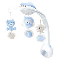 新生儿玩具床挂件0-6个月婴儿床铃音乐旋转宝宝床头摇铃