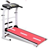 跑步机 健身器材 家用款 迷你走步机 小型多功能超静音加长可折叠家庭减肥 机械跑步机