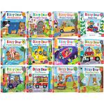 预售 小熊很忙系列12册 Bizzy Bear 儿童绘本童谣机关书 英版 英文原版绘本 纸板操作书 启蒙认知合售 边玩