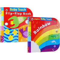 Ladybird Baby Touch Noisy Day 3册套装 儿童启蒙纸板触摸书