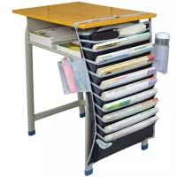 物有物语 收纳挂袋 学生文具课桌神器书箱书籍多层挂式书挂袋桌面收纳盒收纳挂袋