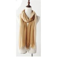 渐变围巾两用长款丝巾空调围脖女士秋冬新款围巾披肩双色
