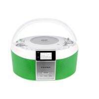 【当当自营】 熊猫/PANDA CD-560 DVD播放机转录机磁带机早教机胎教机CD机收音机 绿色