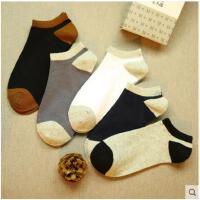 低腰春夏季船袜浅口运动袜子男士短袜低帮纯色棉袜薄袜男子袜