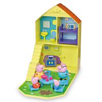 Peppa Pig 小猪佩奇儿童玩具过家家角色扮演房子含佩琪一家四口公仔生日礼物套装 欢乐家庭屋
