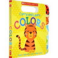 【英文原版】 Carry and Learn Colors 儿童认知启蒙纸板书