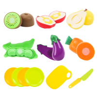 儿童水果切切乐玩具过家家厨房玩具套装切水果女孩玩具蛋糕蔬菜