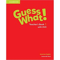 Guess What! American English Level 1 Teacher's Book with DV