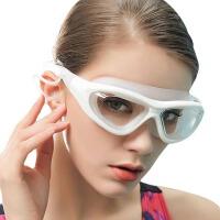 男女士平光大框游泳镜儿童游泳眼镜装备高清游泳镜近视泳镜