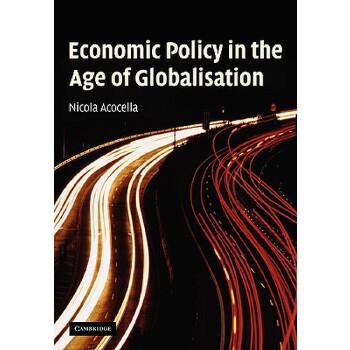 【预订】Economic Policy in the Age of Globalisation 预订商品,需要1-3个月发货,非质量问题不接受退换货。