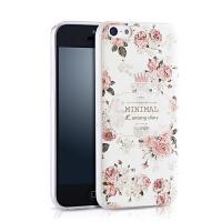 景为 苹果5c手机壳iPhone5c保护套软硅胶5c外壳女男五磨砂创意
