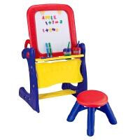 绘儿乐 儿童两用画架活动桌 绘画桌 宝宝画板 画架写字桌 学习桌