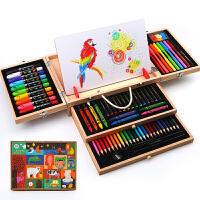 儿童彩笔套装礼盒木制幼儿园儿童绘画套装美术用品画画工具