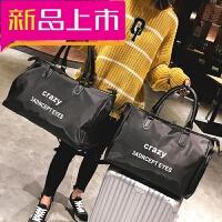新款时尚旅行包男女大容量手提包长短途轻便旅游包健身包行李大包
