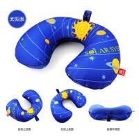 充气枕吹气枕飞机旅游三宝护颈枕u形护脖子U型枕旅行枕充气颈椎枕