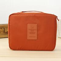 韩版方形旅行多功能内衣收纳包 旅行包 便携洗漱包化妆洗漱工具内衣整理袋