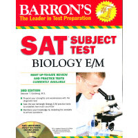 Barrons SAT Test Biology with CD 3rd Revised Edition
