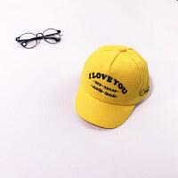 户外运动儿童帽子宝宝鸭舌帽男童韩版潮时尚潮帽子
