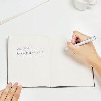 小米签字笔金属米家中性笔芯黑色0.5mm写字水笔商务办公学生文具子弹头碳素笔圆珠笔考试专用替换10支巨能写
