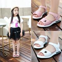 童鞋女童凉鞋夏季公主鞋休闲儿童防滑沙滩鞋学生凉鞋