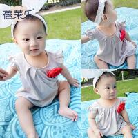 婴儿童连体衣服季宝宝春装新生儿哈衣3个月薄款1岁新年