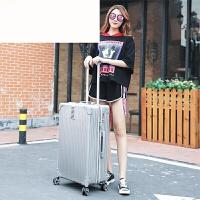 超大30寸拉杆箱万向轮学生旅行箱子30寸码箱28寸男女行李箱包26寸 银灰色 20寸买一送六