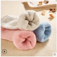 羊毛袜子女冬季加厚保暖加绒兔毛冬天睡眠棉袜毛圈羊绒毛巾袜女袜