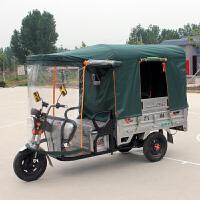 电动三轮车车棚雨棚遮阳棚快递车蓬方管折叠加厚挡雨蓬封闭车篷新品