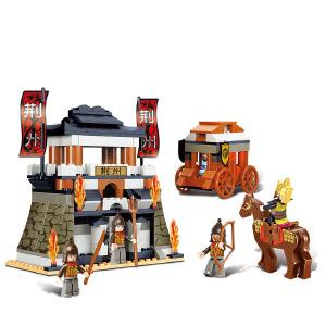 【当当自营】小鲁班三国系列儿童益智拼装积木玩具 凯旋而归M38-B0263